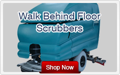 walk behind floor scrubbers