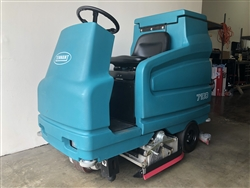 Used Tennant 7100 Floor Scrubber Micro Rider Tennant 7100